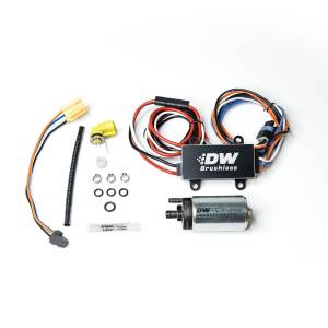 DeatschWerks Fuel Injectors & Pumps - DeatschWerks Fuel Pumps - DeatschWerks - Chevy Camaro 2016+ 440LPH DeatschWerks Brushless In-Tank Fuel Pump Kit with Dual Speed PWM Controller