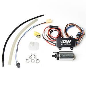 DeatschWerks Fuel Injectors & Pumps - DeatschWerks Fuel Pumps - DeatschWerks - Chevy Corvette 2003-2013 440LPH DeatschWerks Brushless In-Tank Fuel Pump Kit with Dual Speed PWM Controller