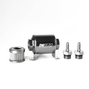 DeatschWerks Fuel Injectors & Pumps - DeatschWerks Fuel Filters - DeatschWerks - DeatshWerks Fuel FilterReplacmentOnly Subaru Impreza 1993-2005 - Stainless Steel 10 Micron