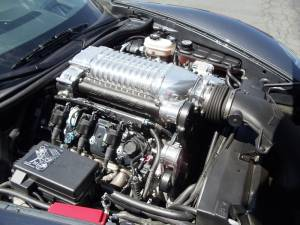 Whipple Superchargers - Corvette Whipple Superchargers - Whipple Superchargers - Whipple Corvette LS2 2005-2007 Supercharger Intercooled Kit W175FF 2.9L
