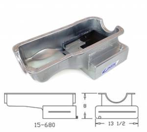 Canton Racing Products - Ford Mustang Cobra 351W Canton 9 Quart Front Sump Oil Pan - Image 3