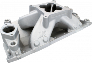 Air Induction - Air Flow Research Intake Manifolds - Air Flow Research - AFR SBC Eliminator CNC Port Match Race Single Plane Aluminum 4150 Intake Manifold