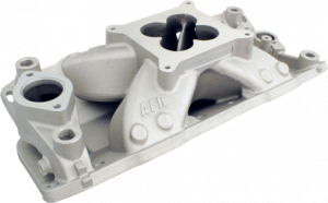 Air Induction - Air Flow Research Intake Manifolds - Air Flow Research - AFR SBC Eliminator CNC Port Matched Street/Strip Single Plane Aluminum 4150 Intake Manifold