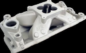 Air Induction - Air Flow Research Intake Manifolds - Air Flow Research - AFR SBC Eliminator CNC Port Match Street/Strip Single Plane Aluminum 4150 Intake Manifold