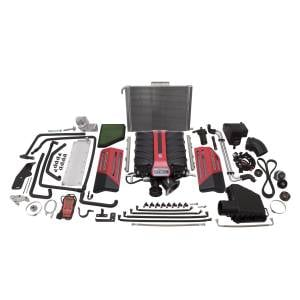 Edelbrock - Chevy Camaro SS L99 2010-2013 Edelbrock Stage 1 Complete Supercharger Intercooled Kit Without Tune - Manual
