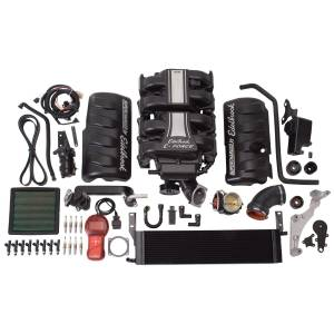 Edelbrock - Ford Mustang 4.6L 2005-2009 Edelbrock Stage 1 Complete Supercharger Intercooled Kit With Tune