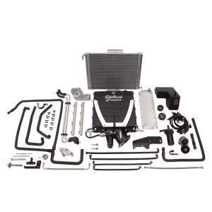Edelbrock - Chevy Camaro SS L99 2010-2015 Edelbrock Supercharger Intercooled Pro Tuner Kit - Manual