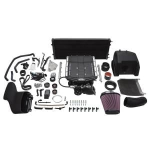 Edelbrock Superchargers - Ford Edelbrock Superchargers - Edelbrock - Ford F-150 Coyote 5.0L 2015-2017 Edelbrock Stage 1 Complete Supercharger Intercooled Kit Without Tune