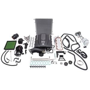 Edelbrock - ChevySilveradoGMC Sierra 2500 6.0L 2011-2013 Edelbrock Stage 1 Complete Supercharger Intercooled Kit Without Tune