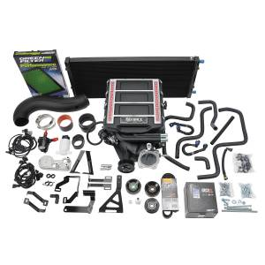 Edelbrock - Chevy/GMC Truck SUV Gen V5.3L 2014-2020 Edelbrock Stage 1 Complete Supercharger Intercooled Kit With Tune