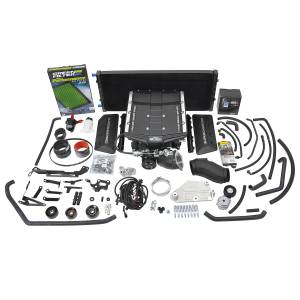 Edelbrock Superchargers - Ford Edelbrock Superchargers - Edelbrock - Ford F-150 Coyote 5.0L 2019-2020 Edelbrock Stage 1 Complete Supercharger Intercooled Kit With Tune