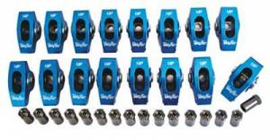 Valvetrain - Trick Flow Timing Chains - TREperformance - Trick Flow 1.72 Ratio 3/8 Ford Aluminum Roller Rockers
