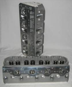 Air Flow Research - AFR 230cc LSX Cylinder Heads, 62cc Chambers, With Parts - Image 1