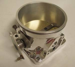 Accufab Throttle Bodies - Accufab - Mustang 86-93 - Accufab Racing - Accufab 105mm 86-93 Mustang 5.0L Clamshell Clamp Throttle Body
