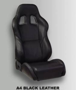 Interior - Corbeau Seats - Corbeau - Corbeau Leather/Custom Reclining Seat