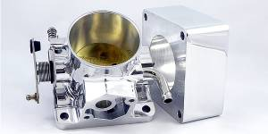 Accufab Throttle Bodies - Accufab - Mustang 86-93 - Accufab Racing - Accufab 75mm 86-93 Mustang 5.0L Throttle Body w/Blank Spacer