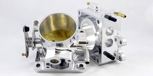 Accufab Throttle Bodies - Accufab - Mustang 86-93 - Accufab Racing - Accufab 75mm 86-93 Mustang 5.0L Race Throttle Body w/EGR Spacer