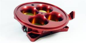 Accufab Throttle Bodies - Accufab - 4-Barrel Throttle Bodies - Accufab Racing - Accufab 4-Barrel 4500 Red Throttle Body