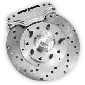Brakes - Aerospace Components Front Floater 2 Piston Disc Brakes - Aerospace Components - Aerospace Ford Mustang Front 2 Piston Floater Drag Disc Brakes 1979-1993 4 Lug