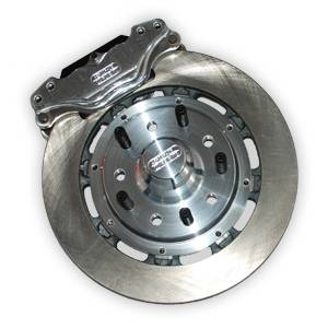 Brakes - Aerospace Components Front Floater 2 Piston Disc Brakes - Aerospace Components - Aerospace Ford Mustang Front 2 Piston Floater Pro Street Disc Brakes 1979-1993 5 Lug