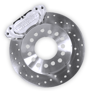 Brakes - Aerospace Components Rear Drag Disc Brakes - Aerospace Components - Aerospace Ford 8.8 Rear Drag Disc Brakes 4 Lug w/ Stock Axle