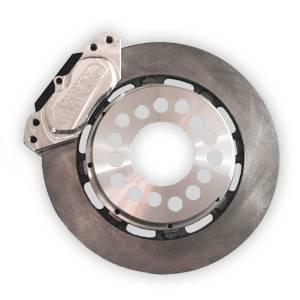 Brakes - Aerospace Components Rear Street Disc Brakes - Aerospace Components - Aerospace Ford 8.8 Rear Pro Street Disc Brakes 4 Lug w/ C-Clip Elims