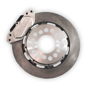 Brakes - Aerospace Components Rear Street Disc Brakes - Aerospace Components - Aerospace Torino New Style Ford Rear Pro Street Disc Brakes