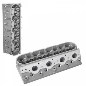 TFS Cylinder Heads - Small Block Chevy - GenX Street/Strip Cylinder Heads for GM LSX - Trickflow - Trickflow LS2 225cc Intake Runners, 65cc CNC-ported combustion chambers, Titanium Retainers, Pair