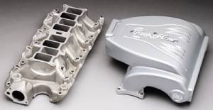 Air Induction - Trick Flow Specialties Intake Manifolds - Trickflow - Trick Flow Track Heat Intake Manifolds for Ford 5.0L Bare