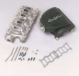 Air Induction - Trickflow - Trick Flow R-Series Intake Manifolds for Ford 5.0L 75mm Black