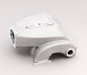 Air Induction - Trick Flow Specialties Intake Manifolds - Trickflow - Trick Flow R-Series Intake Manifold for Ford 5.0L Silver 90mm