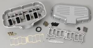 Air Induction - Trickflow - Trick Flow Box-R-Series Intake Manifold Ford 302 5.0L Silver