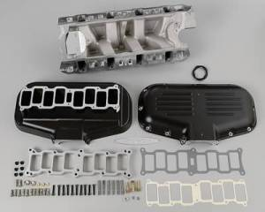 Air Induction - Trick Flow Specialties Intake Manifolds - Trickflow - Trick Flow Box-R-Series Intake Manifold Ford 302 5.0L Black