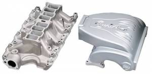 Air Induction - Trick Flow Specialties Intake Manifolds - Trickflow - Trick Flow R-Series Intake Manifold Ford 351W 75mm Silver