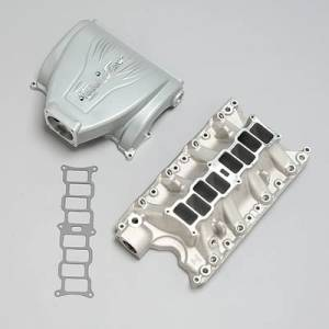 Air Induction - Trick Flow Specialties Intake Manifolds - Trickflow - Trick Flow R-Series Intake Manifold Ford 351W 90mm Silver