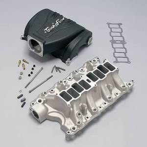 Air Induction - Trick Flow Specialties Intake Manifolds - Trickflow - Trick Flow R-Series Intake Manifold Ford 351W 90mm Black