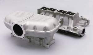 Trickflow - Trick Flow Box-R-Series Intake Manifold Ford 351w Silver