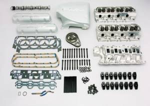 Top End Engine kits  - Ford Top End Engine Kits - Trickflow - Trick Flow 350 HP Twisted Wedge Top-End Engine Kit Ford 5.0L