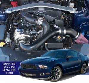 ATI / Procharger Superchargers - Ford Mustang Prochargers 2011-2014 - ATI/Procharger - Ford Mustang V6 2011-2014 3.7L 4V Procharger - Intercooled (Tuner Kit)