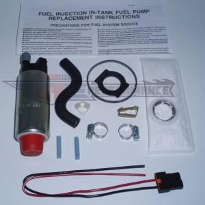 Walbro 255 LPH Fuel Pumps - Ford 255 LPH Fuel Pumps - Walbro - Walbro - Ford Mustang Walbro 255 LPH Fuel Pump 1985-1995, 5.0, 2.3