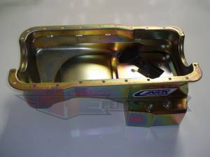 Canton Street/Strip/Road Race Oil Pans - Ford Street/Strip/Road Race Oil Pans - Canton Racing Products - Ford Mustang 289/302 Canton 7 Quart T-Style Rear Sump Oil Pan