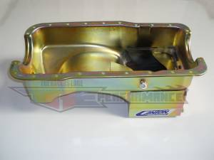 Canton Street/Strip/Road Race Oil Pans - Ford Street/Strip/Road Race Oil Pans - Canton Racing Products - Ford Mustang 289/302 Canton 7 Quart Deep Rear Sump Oil Pan