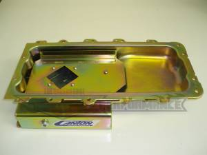 Canton Street/Strip/Road Race Oil Pans - Ford Street/Strip/Road Race Oil Pans - Canton Racing Products - Ford Mustang 4.6/5.4 Canton 7 Quart Rear Sump Oil Pan Kit Car
