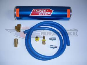 Oil System - Canton Accusump Oil Accumulators - Canton Racing Products - Canton Accusump Turbo After Oiler