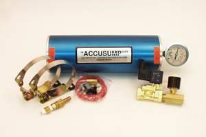 Oil System - Canton Accusump Oil Accumulators - Canton Racing Products - Canton 2 Quart Marine Accusump Kit
