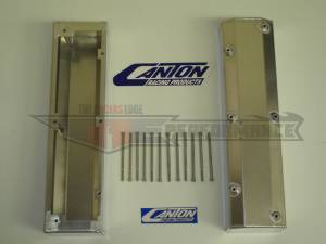Valve Covers - Canton Racing Products - Canton Ford 302/351W Fabbed Aluminum Valve Covers