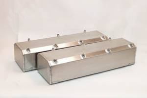 Valve Covers - Canton Racing Products - Canton BBF 429/460 Fabbed Aluminum Valve Covers w/ Hardware