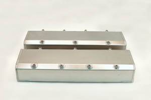 Valve Covers - Canton Racing Products - Canton Chevy BBC Fabricated Aluminum Valve Covers