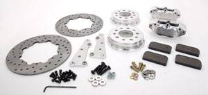 Brakes - Aerospace Components Front Drag Disc Brakes - Aerospace Components - Aerospace Ford Mustang Front Drag Disc Brakes 1979-1993 4 Lug