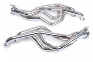"Ford Mustang 1979-1995 V8 - Mustang 79-93 5.0 Long Tube Exhaust - MAC Performance - 1 5/8"" Chrome Plated Long Tube Headers with 2.5"" Collector Automatic 1979-1993 5.0L"